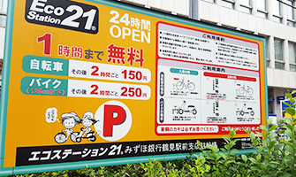 エコステーション21 みずほ銀行鶴見駅前支店駐輪場